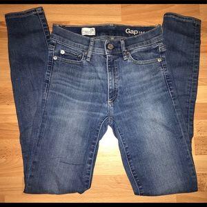 Gap 1969 Skinny Jeans Size 25r